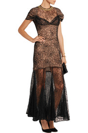 Camelia Chantilly lace gown