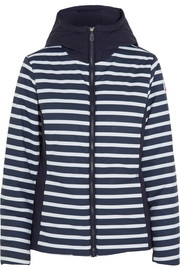 Hafjell Stripes hooded stretch-shell ski jacket