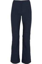 Solden quilted stretch-scuba ski pants