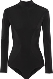 Vera stretch-jersey turtleneck bodysuit