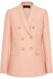 Irene wool and silk-blend blazer
