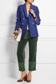 Irene wool and silk-blend faille blazer