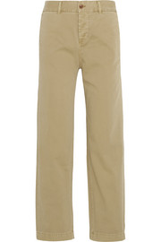 J.Crew Cotton-twill straight-leg pants