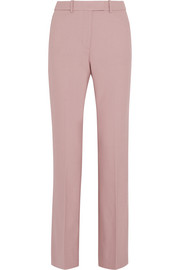 Preston stretch wool-blend flared pants