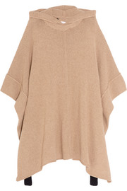 See by Chloé Hooded alpaca-blend poncho