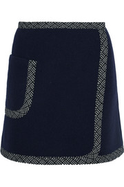 See by Chloé Wool-blend mini skirt