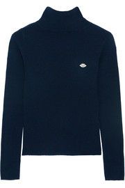 See by Chloé Stretch-knit turtleneck sweater