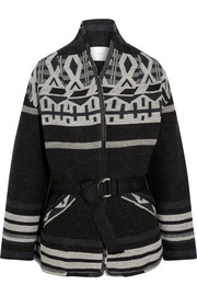 Ashton wool-blend jacquard jacket