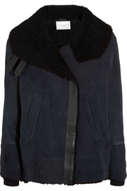 Dafny shearling coat