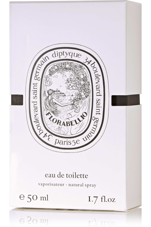 Diptyque Florabellio – Apfelblüten, Meeresakkorde & Kaffee, 50 ml – Eau de Toilette