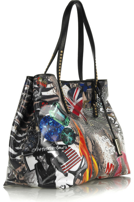 Jimmy Choo | Limited Edition PEP printed tote | NET-A-PORTER.COM from net-a-porter.com