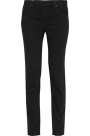 Wang 002 high-rise straight-leg jeans