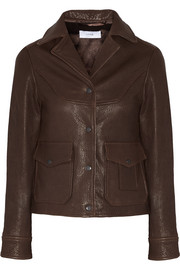Ford textured-leather jacket