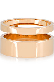 Repossi Berbère Module 18-karat rose gold ring