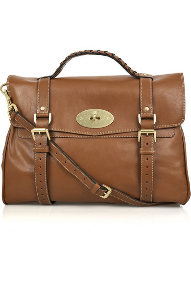 a162feb9a1f6 Mulberry. Oversized Alexa leather bag