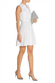 Davah cotton-poplin mini shirt dress