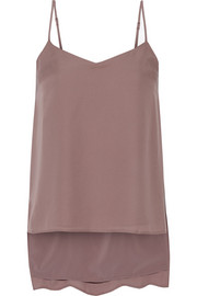 Theory Vaneese silk-georgette camisole
