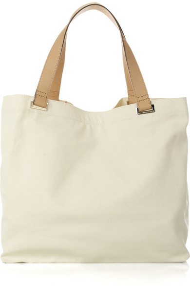 Anya Hindmarch | Beach Bag canvas tote | NET-A-PORTER.COM