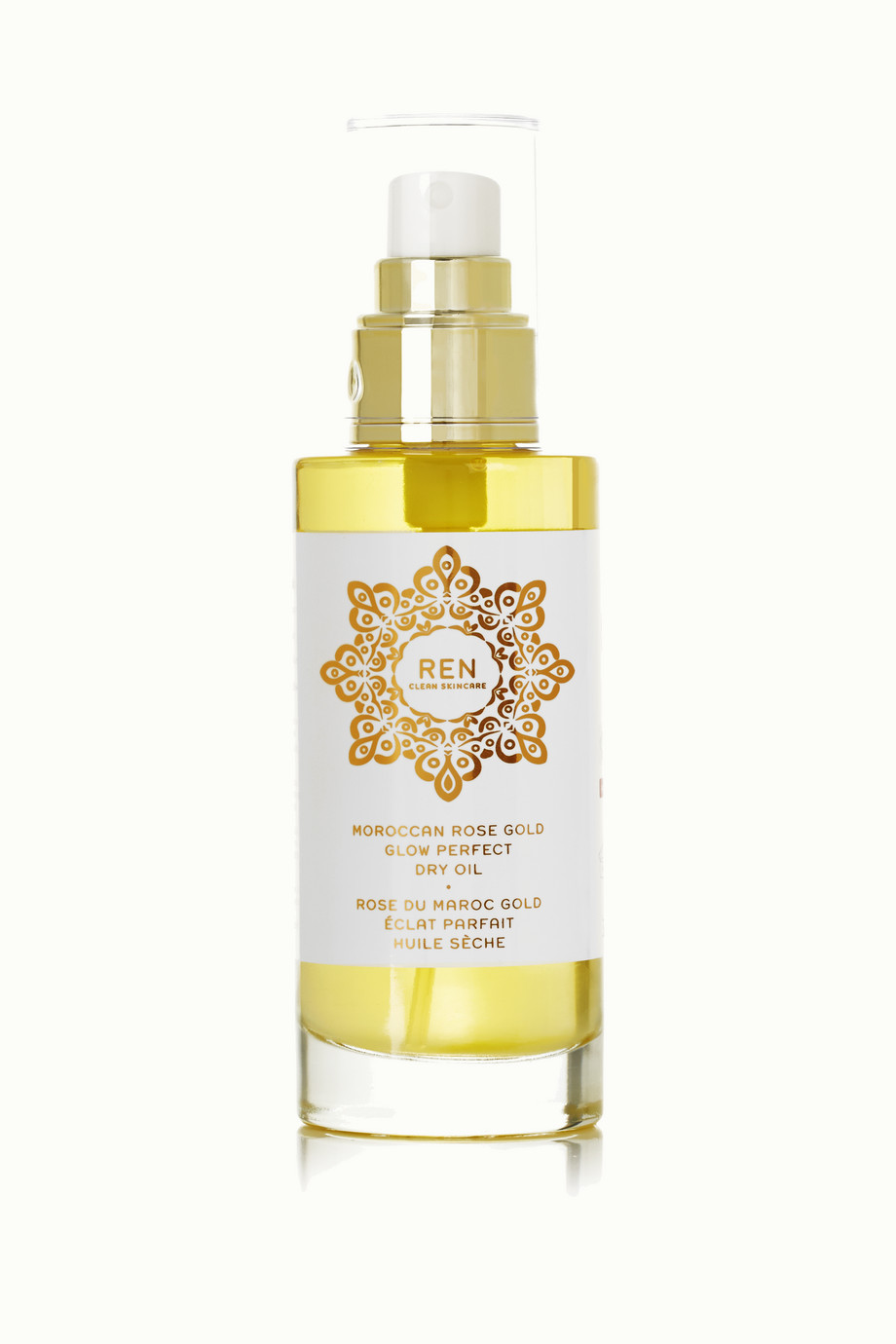 Moroccan Rose Gold Glow Perfect Dry Oil, 100ml, by Ren Skincare