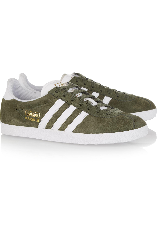 Inconcebible Imperialismo Saturar  Army green Gazelle OG suede sneakers | adidas Originals | NET-A-PORTER