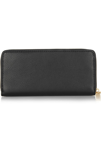 1cd4f0ecfb80 MICHAEL Michael Kors. Bedford textured-leather continental wallet