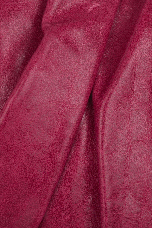 Vanessa Bruno Glazed leather pochette