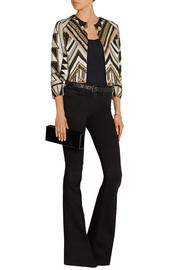 Lainey embellished silk jacket