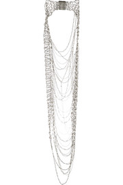 Rosantica Giovanna palladium-tone pearl necklace