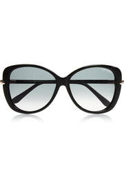 Tom Ford Linda round-frame acetate sunglasses