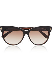 Tom Ford Saskia cat-eye acetate sunglasses