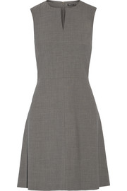 Miyani stretch-wool mini dress