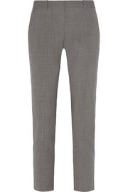 Testra stretch-wool straight-leg pants