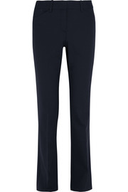 Custom stretch-wool flared pants