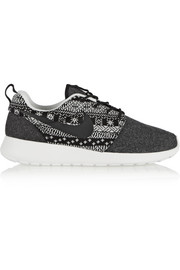 Roshe One Winter wool and wool-felt sneakers