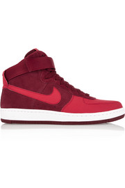 Air Force 1 Ultra Force Mid suede and leather sneakers