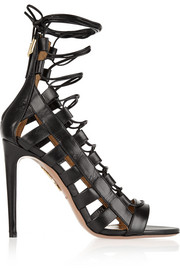 Amazon lace-up leather sandals