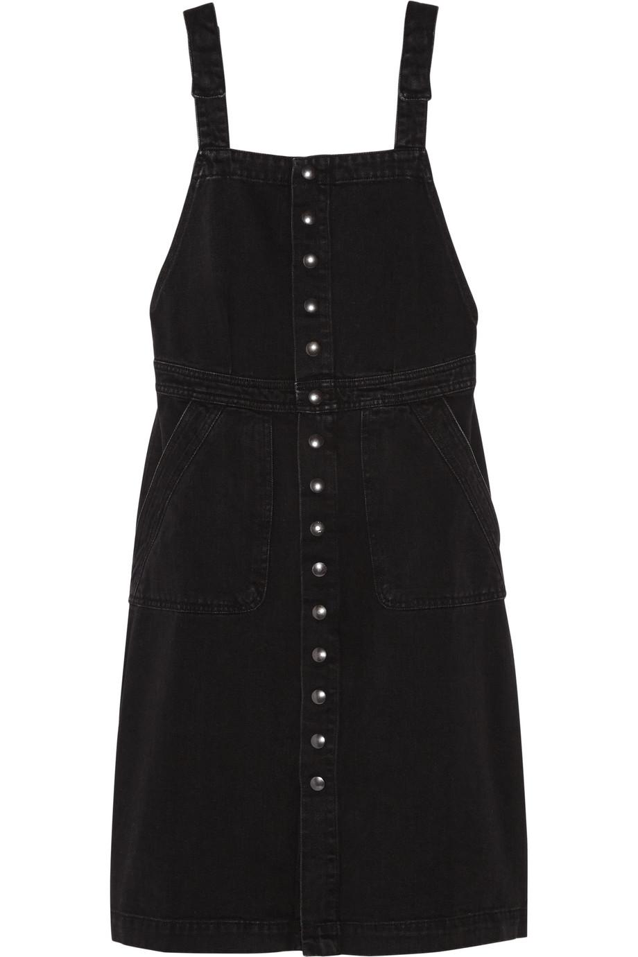 Eastman Denim Dress, Black, Women's, Size: L