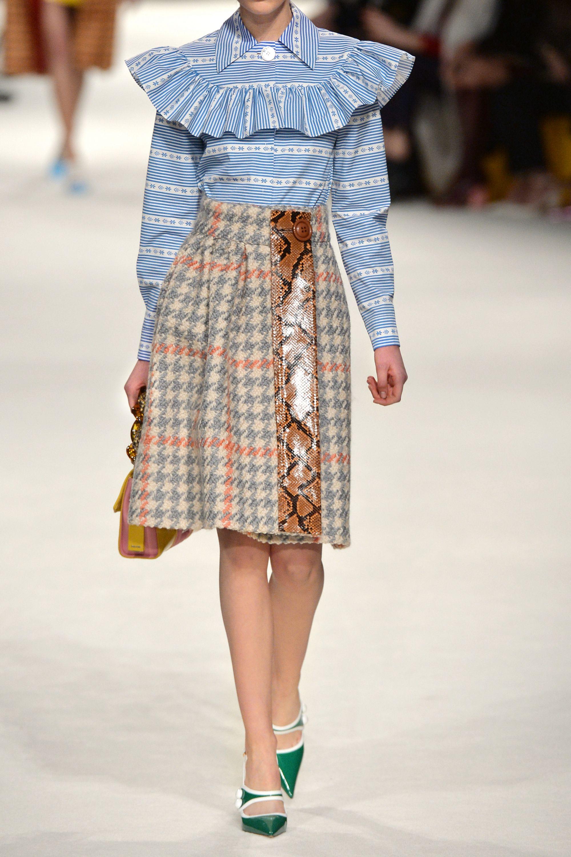 Miu Miu Ruffled cotton-poplin blouse