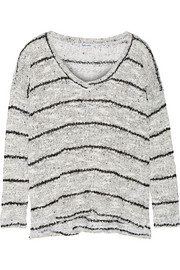 Broome striped knitted sweater