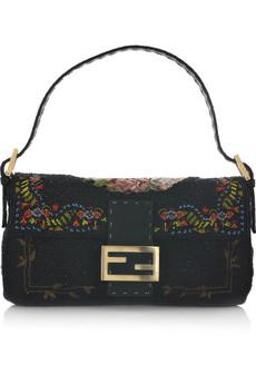Fendi Baguette beaded shoulder bag