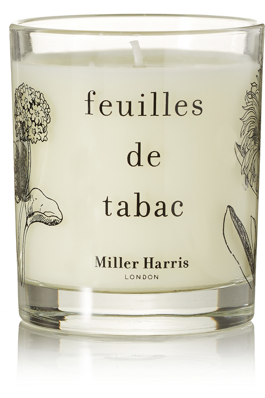 Feuilles De Tabac Scented Candle - Tobacco Leaf & Pimento Berries, 185g