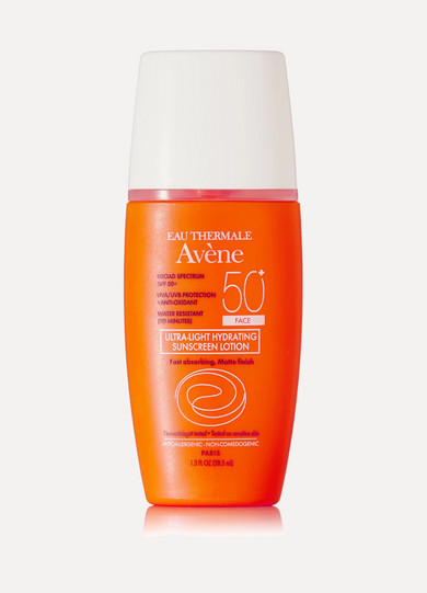 AVENE SPF50 ULTRA-LIGHT HYDRATING SUNSCREEN LOTION, 38.5ML - COLORLESS