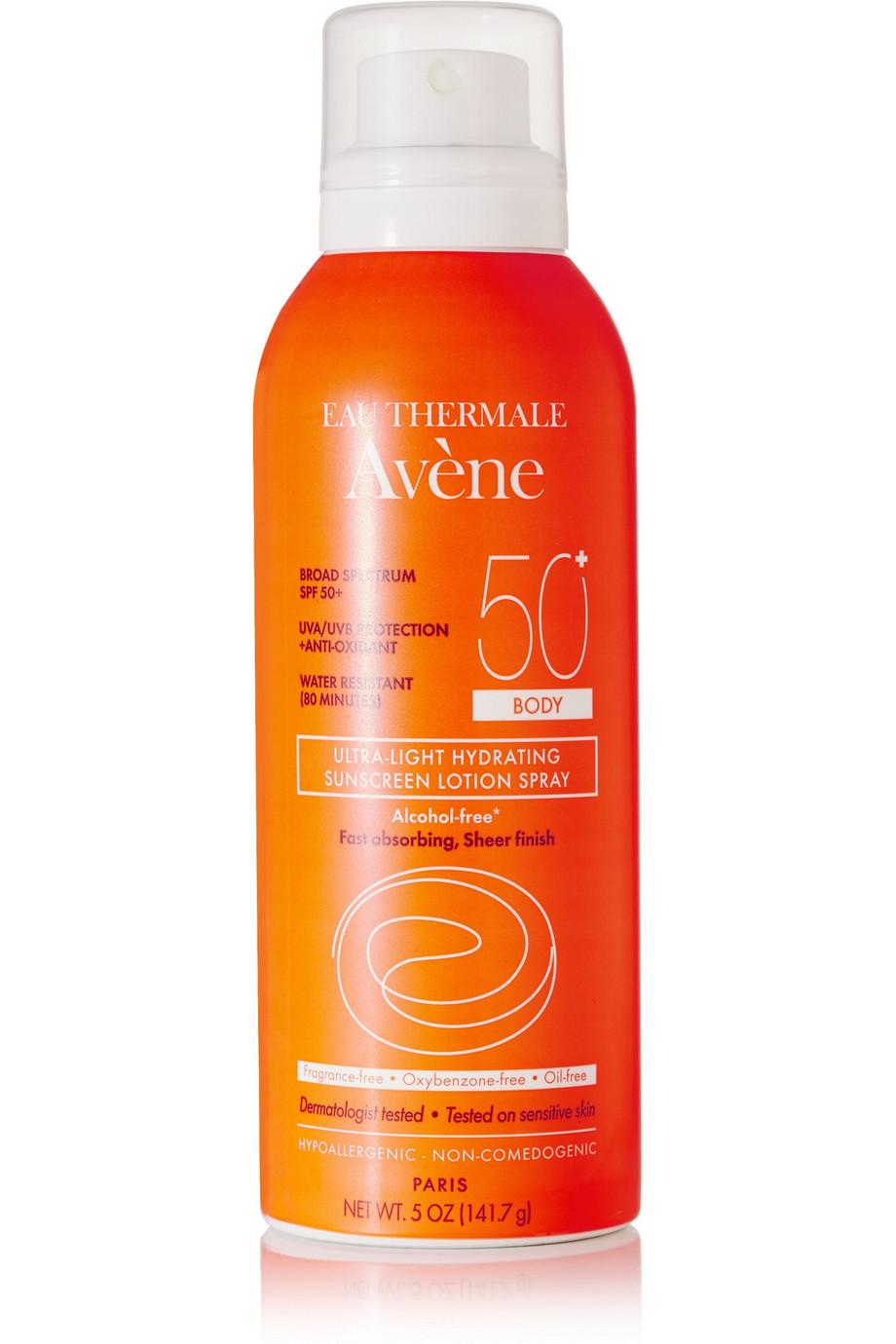 Spf50+ Ultra-Light Hydrating Sunscreen Lotion Spray, 141.7ml, by Avene