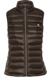 Ideal quilted shell down vest