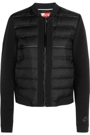 Nike Aeroloft quilted shell and jersey down jacket