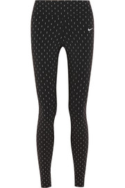 Epic Lux Flash printed stretch-jersey leggings