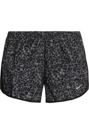 Tempo Modern Lotus leopard-print shell shorts