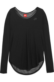 Nike Modal-blend and mesh top