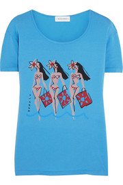 + Donald Robertson Dottie printed cotton T-shirt