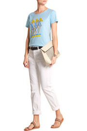 + Donald Robertson Breezy printed cotton T-shirt